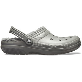 Crocs Classic Lined Clogs zoccoli, slate grey/smoke